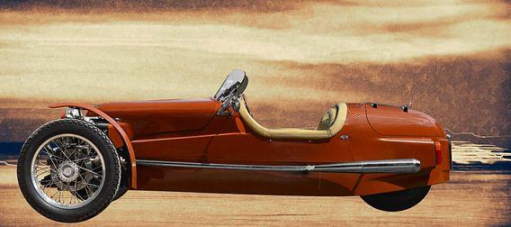 Morgan Threewheeler in originele kleur