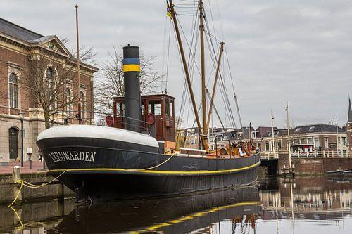 Historische stoomschip Leeuwarden