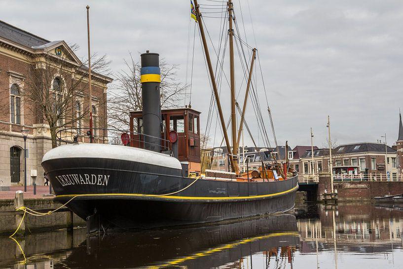 Historische stoomschip Leeuwarden van Hilda Weges