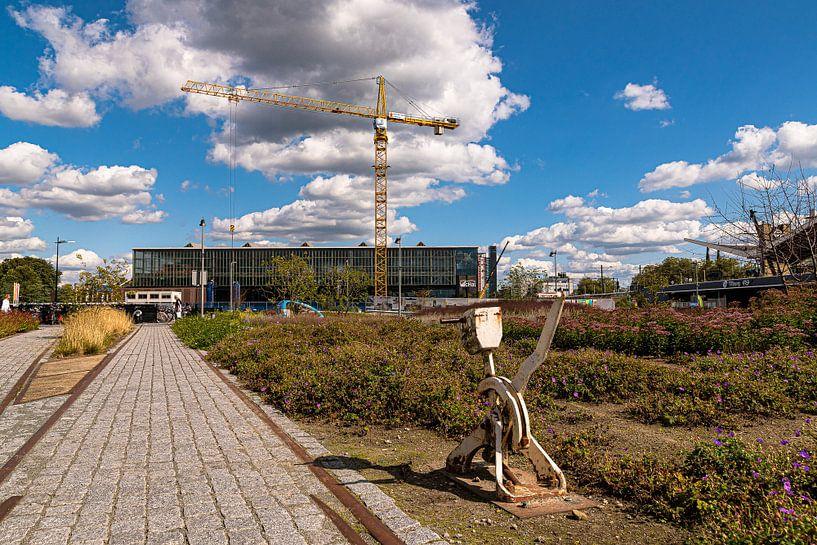 de spoorzone in Tilburg van Freddie de Roeck