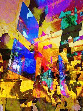 Modernes, abstraktes digitales Kunstwerk - Rufen Sie Ihren Namen von Art By Dominic