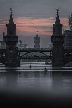 Oberbaumbrücke Berlijn van Robin Berndt