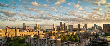 Skyline Rotterdam Zonsondergang von
