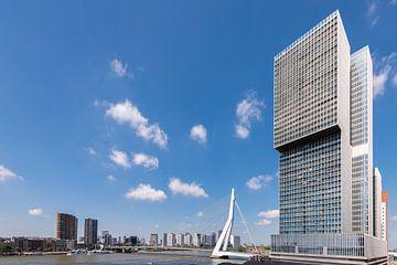 De Rotterdam en de Erasmusbrug (horizontaal) van
