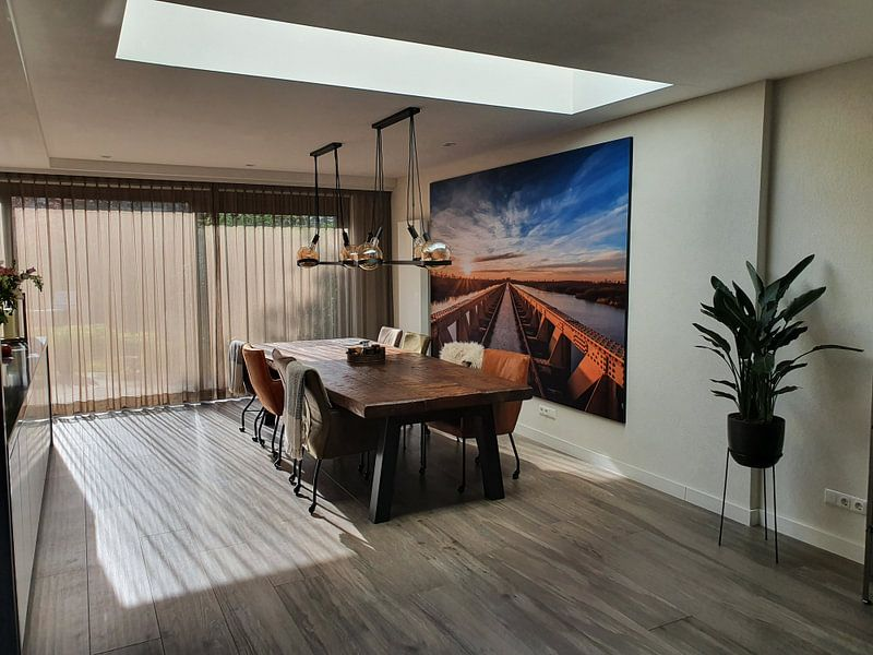 Kundenfoto: Moerputtenbrug, Den Bosch von MS Fotografie | Marc van der Stelt, als akustikbild