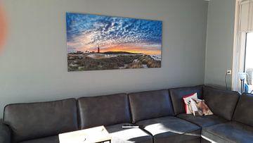 Klantfoto: Noordelijkste puntje van Texel. van Justin Sinner Pictures ( Fotograaf op Texel)