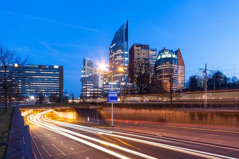 De Skyline van Den Haag van Frenk Volt