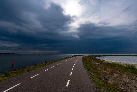 Zeewolde in de storm