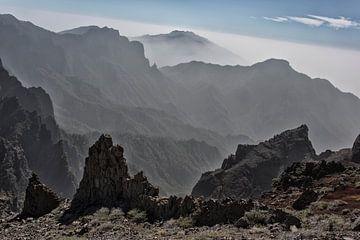 Berge auf La Palma von Angelika Stern