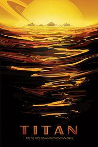 Titan - Ride the tides through the throat of kraken