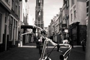De fiets en de Domtoren van