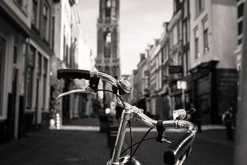 De fiets en de Domtoren van Canol Zeren