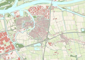 Kaart vanGeertruidenberg
