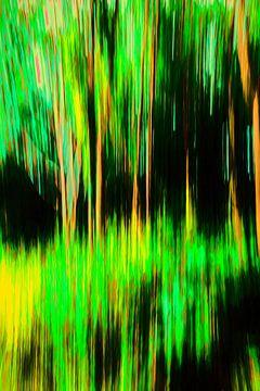 Het groene bos von Dick Jeukens