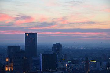 Rotterdam in prachtige kleuren van Marcel van Duinen