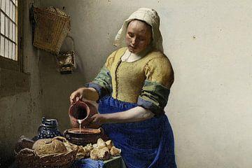 Melkmeisje, Johannes Vermeer van