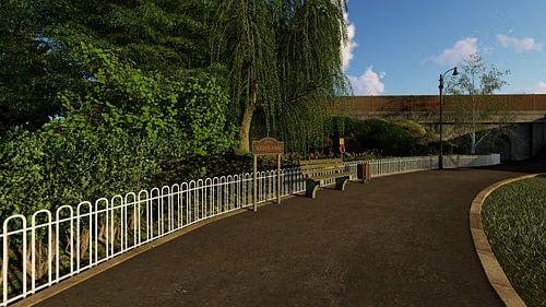 parc dans le ciel nouveau 2 sur H.m. Soetens