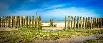 Stormbrekers bij de Opaalkust, Frankrijk van Rietje Bulthuis
