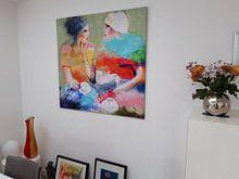 Kundenfoto: High tea von Atelier Paint-Ing, auf leinwand