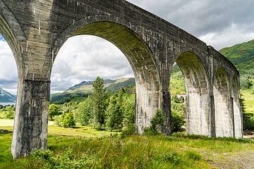 Viaduct bij Glenfinnan van Floris van Woudenberg