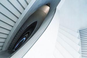 De trap als kunst.