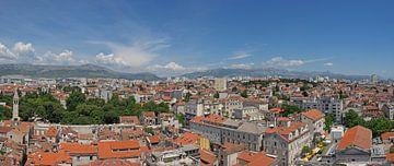 Über den Dächern von Split, Kroatien von Katrin May
