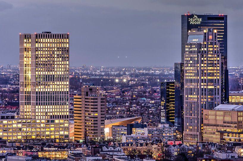 Rotterdam Central District von Frans Blok