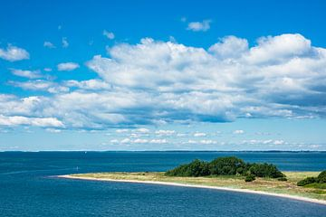 Landscape on the Baltic Sea coast in Gedser van Rico Ködder