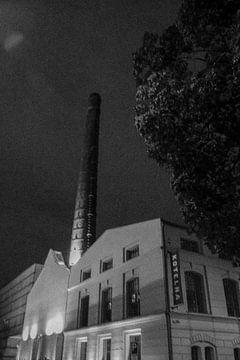 Prag - Altes Fabrikgebäude von Wout van den Berg