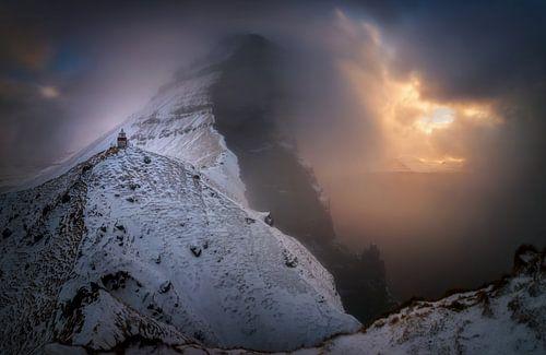 Kallur snowstorm van Wojciech Kruczynski