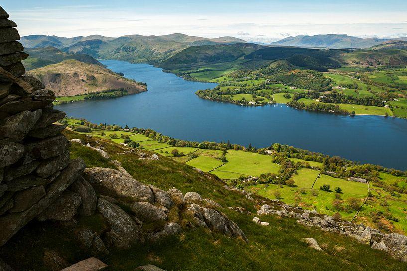 Vue du Lake District sur Frank Peters