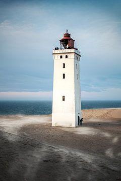 Rubjerg Knude von Sand umweht von Florian Kunde