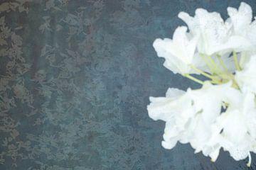 Ophelia #4 (De vijver) (versie met bloem rechts) van Remke Spijkers