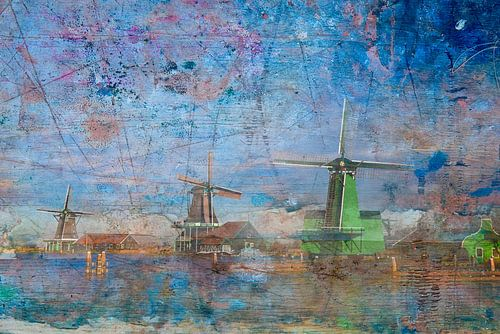 Molens aan de Zaanse Schans, Nederland