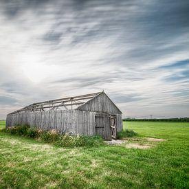 Scheune auf dem Feld von Mark Bolijn