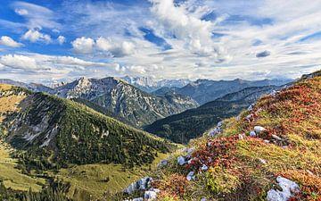 Herbstliche Ammergauer Alpen von Andreas Föll