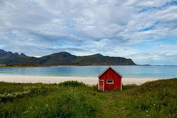 Ramsberg Beach, Lofoten, Norwegen von Adelheid Smitt