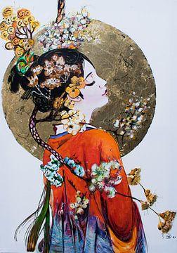 """Japanse droom van Janny Schilderink......Atelier """"de Tuute """""""