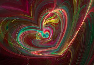 Fraktal Herz