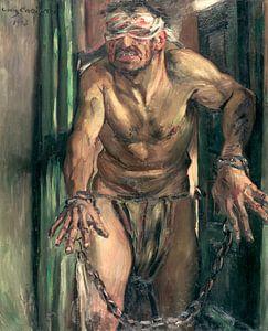Lovis Corinth.Der Samson mit verbundenen Augen