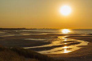Zonsondergang over zee van Mister Moret Photography