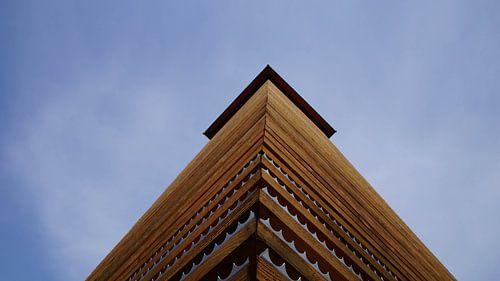 De uitkijktoren op de Hulzenberg van