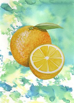 Zoete sinaasappel van Jasper de Ruiter