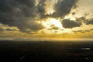 uitzicht op Kandy van