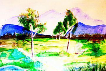 marsh landscape van