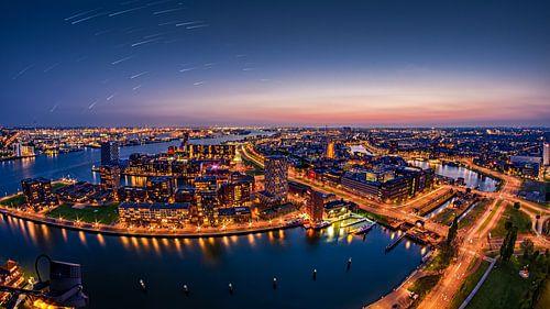 Rotterdam Sunset von Michiel Buijse