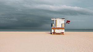 Strandhuisje South Beach Miami van Dimitri Louwet