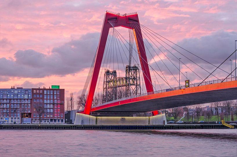 Rotterdam, de Willembrug en de Hef van Frans Blok