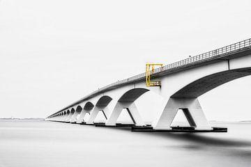 Zeelandbrug-01, Pont sur l'estuaire de Oosterschelde