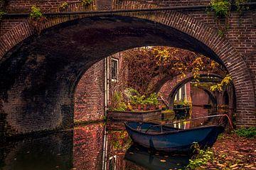 Kromme Nieuwe Gracht, Utrecht. van Robin Pics (verliefd op Utrecht)